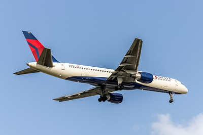 Delta Air Lines, N603DL, Boeing 757-232, msn 22810, Photo by John A Miller, TPA, Image N109RAJM