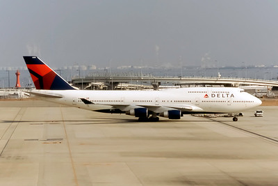 Delta Air Lines, N665US, Boeing 747-451, msn 23820, Photo by Eddy Gual, Image M096RGEG