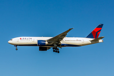 Delta Air Lines, N710DN, Boeing 777-232(ER), msn 40560, Photo by John A Miller, LAX, Image PP032LAJM