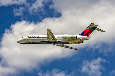 Delta Air Lines, N925AT, Boeing 717-231, msn 55079, Photo by John A Miller, CLT, Image ZZ039LAJM