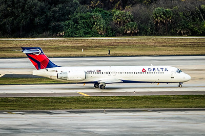 Delta Air Lines, N986AT, Boeing 717-231, msn 55089, Photo by John A Miller, TPA, Image ZZ033RGJM