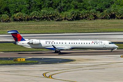 Delta Connection, N904XJ, CRJ-900LR, msn 15135, Photo by John A Miller, TPA, Image YF001RGJM