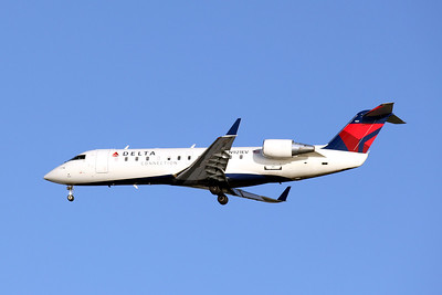 Delta Connection (ASA), N921EV, CRJ-200ER, msn 7819, Photo by John A. Miller, TPA, Image ZZ007LAJM