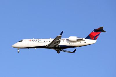 Delta Connection (ASA), N921EV, CRJ-200ER, msn 7819, Photo by John A. Miller, TPA, Image ZZ007LAJM
