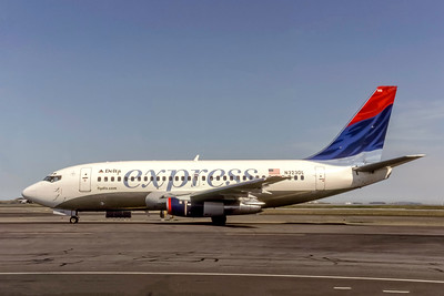 Delta Express, N323DL, Boeing 737-232(A), msn 23095, Photo by Photo Enrichments Collection, Image J190LGSO