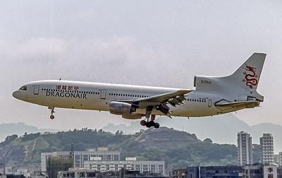 Dragonair,VR-HOK, L-1011-385-1 TriStar 1, msn 193A-1055, Photo by Frank Hines, HKG, Image Q038LAFH