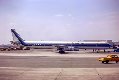 Eastern Airlines, N8763, Douglas DC-8-61, msn 46037, Photo by Bob Weinwurzel Collection, Image B039GBW