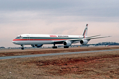 Emery Worldwide, N8177U, Douglas DC-8-71(F), msn 45983, Photo by John A. Miller, GSO, Image B019LGJM