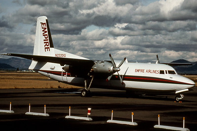 Empire Airlines, N222DG, Fairchild F-27A, msn 31, Photo by Photo Enrichments Collection, Image E002RGJC