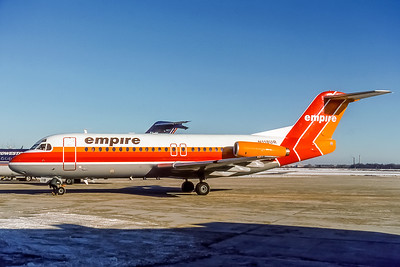 Empire Airlines, N118UR, Fokker F28-4000, msn 11224, Photo by Photo Enrichments Collection, Image: F006LGJC