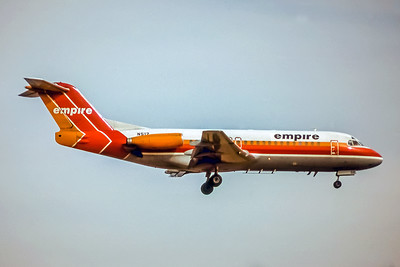Empire Airlines, N512, Fokker F28-4000, msn, Photo by John Stewart, Image F018RAJS