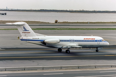 Empire Airlines, N106UR, Fokker F28-4000, msn 11149, Photo by Photo Enrichments Collection, Image F014RGJC