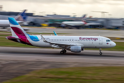 Eurowings Airlines, D-AIZV, Airbus A320-214(WL), msn 5658, Photo by John A Miller, LHR, Image T156RGJM