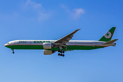 Eva Airways, B-16709, Boeing 777-35E(ER), msn 33753, Photo by John A Miller, LAX, Image PP014LAJM