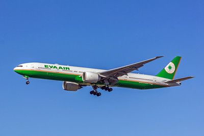 Eva Air, B-16723, Boeing 777-36N(ER), msn 42108, Photo by John A Miller, LAX, Image PP027LAJM