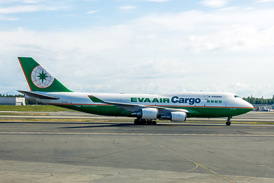 Eva Air Cargo, B16401, Boeing 747-45E(BDSF), msn 27062, Photo by John A. Miller, ANC, Image M077RGJM