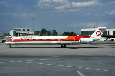 Frontier, N9802F, McDonnell Douglas MD-82, msn 49117, Photo by Wilfred C Wann, Image D010LGWW