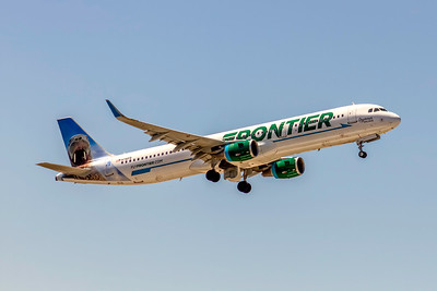 Frontier Airlines, N716FR, Seymour the Walrus, Airbus A321-211(WL), msn 7524, Photo by John A Miller, TPA, Image TA034RAJM