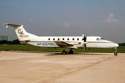 GP-Express, N122GP, Beech 1900C-1, msn UC-124, Photo by John A Miller, GSO, Image LL004RGJM