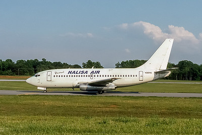 Halisa Air, N310VA, Boeing 737-284(ADV), msn 21501, Photo by John A Miller, GSO, Image J091LGJM