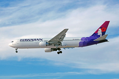 Hawaiian Airlines, N586HA, Boeing 767-3Q5(ER), msn 24259, Photo by John A. Miller, LAS, Image P040LAJM