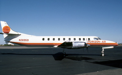Horizon Air, N26959, Seargingen Metro SA227-AC Metro III, msn AC-662B, Photo by Photo Enrichments Collection, Imagae AI004RGJC