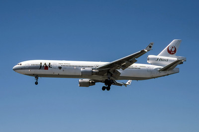 Japan Airlines, JA8584, McDonnell Douglas MD-11, msn 48575, Photo by Photo Enrichments Collection, Image II13LAJC