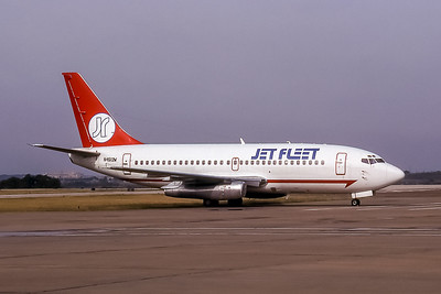 Jet Fleet, N4512W, Boeing 737-247, msn 19609, Photo by Brian Peters, FTW, Image J042RGBP