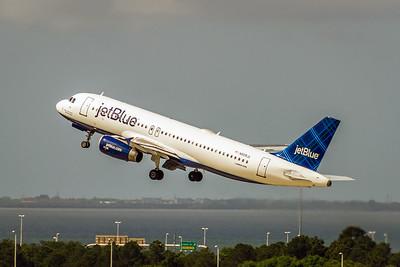 JetBlue, N508JL, Airbus A320-232, msn 1257, Photo by John A Miller, TPA, Image T115LAJM