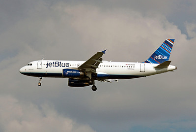 JetBlue, N590JB, Airbus A320-232, msn 2231, Photo by John A. Miller, TPA, Image: T060LAJM