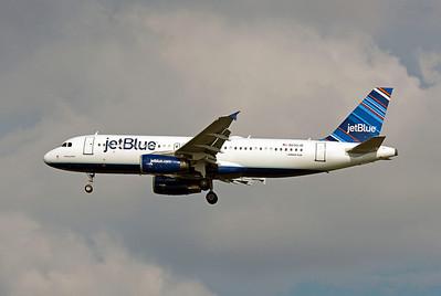 JetBlue, N590JB, Airbus A320-232, msn 2231, Photo by John A. Miller, TPA, Image: T060LAJM