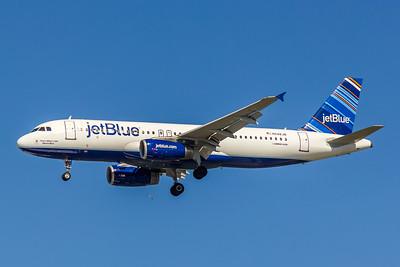 JetBlue, N648JB, Airbus A320-232, msn 2970, Photo by John A Miller, TPA, Image T087LAJM