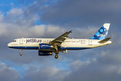 JetBlue, N627JB, Airbus A320-232, msn 2577, Photo by John A Miller, TPA, Image T102LAJM