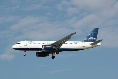 JetBlue, N552JB, Airbus A320-232, msn 1861, Photo by John A. Miller, TPA, Image T054LAJM