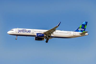 JetBlue, N947JB, Airbus A321-231(WL), msn 6448, Photo by John A Miller, LAX, Image TA016LAJM