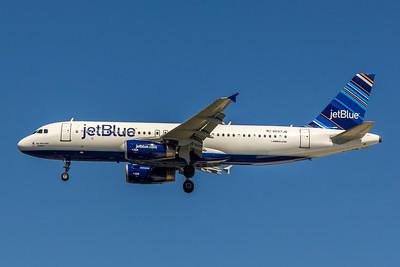 JetBlue, N597JB, Airbus A320-232, msn 2307, Photo by John A Miller, TPA, Image T085LAJM
