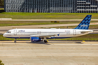 JetBlue, N708JB, Airbus A320-232, msn 3479, Photo by John A Miller, TPA, Image T124LGJM