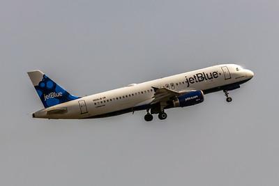 JetBlue, N506JB, Airbus A320-232, msn 1235, Photo by John A Miller, EWR, Image T083RAJM