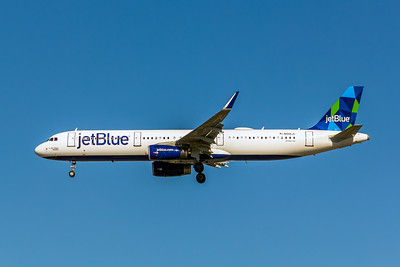 JetBlue, N946JL, Airbus A321-231(WL), msn 6425, Photo by John A Miller, LAX, Image TA025LAJM
