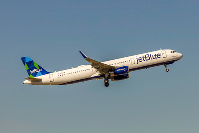 JetBlue, N972JT, Airbus A321-231(WL), msn 7455, Photo by John A Miller, TPA, Image TA036RGJM