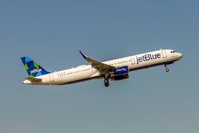 JetBlue, N972JT, Airbus A321-231(WL), msn 7455, Photo by John A Miller, TPA, Image TA036RGJM