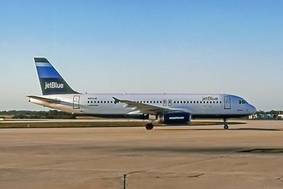 JetBlue, N503JB, Airbus A320-232, msn 1123, Photo by John A MIller, TPA, Image T036RGJM