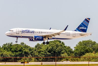 JetBlue, N809JB, Airbus A320-232(WL), msn 5349, Photo by John A Miller, TPA, Image T132LAJM