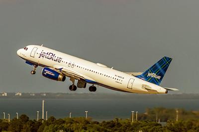 JetBlue AIrways, N663JB, Airbus A320-232, msn 3287, Photo by John A Miller, TPA, Image T114LAJM