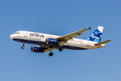 JetBlue, N656JB, Airbus A320-232, msn 3091, Photo by John A Miller, TPA, Image T130LAJM