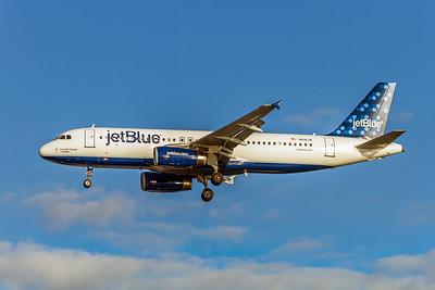 JetBlue, N618JB, Airbus A320-232, msn 2489, Photo by John A Miller, TPA, Image T101LAJM