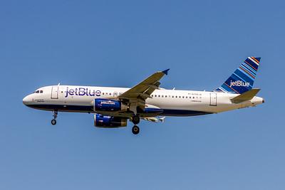 JetBlue, N794JB, Airbus A320-232, msn 4904, Photo by John A Miller, TPA, Image T129LAJM