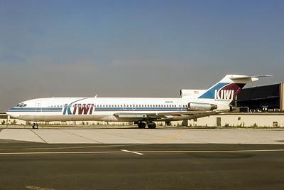 Kiwi International, N32719, Boeing 727-224, msn 20388, Photo by Adrian J Smith, Image I066LGAS