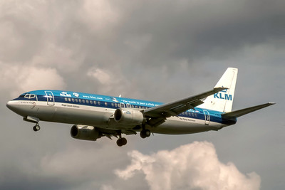 KLM Royal Dutch Airlines, PH-BTG, Boeing 737-406, msn 27233, Photo by J. Fernandez Collection, Image L044LAJF