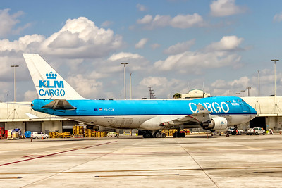 KLM Royal Dutch Cargo Airline, PH-CKA, Boeing 747-406F(ER), msn 33694, Photo by John A Miller, MIA, Image M092RGJM